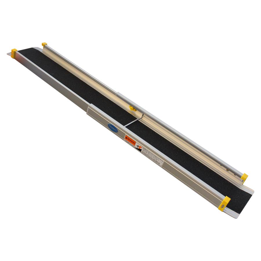 Aluminium oprijplaat uitschuifbaar - 120 cm (2 stuks) 3