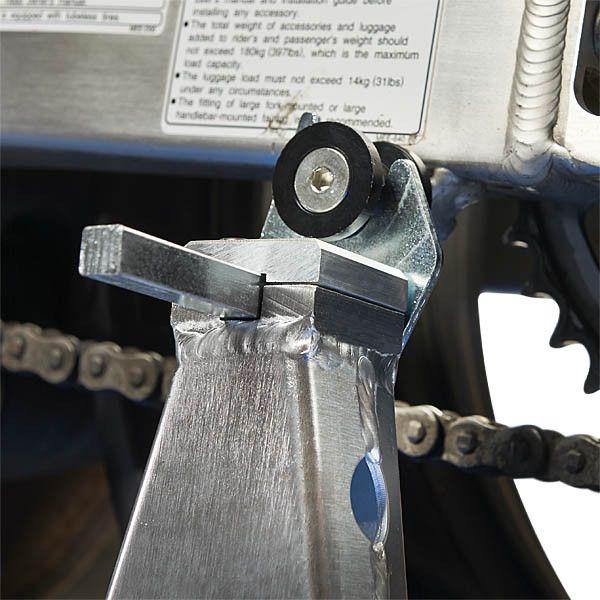 Paddockstand achterwiel aluminium motorlift motorstandaard 3