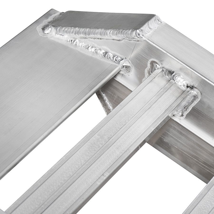 Aluminium oprijplaat auto - 350 cm - 2 ton rijgoot rijplaat  9