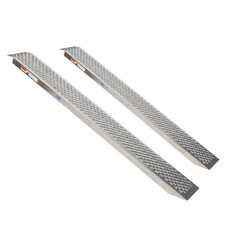 Aluminium rijplaat - 200 cm - 2 stuks 1