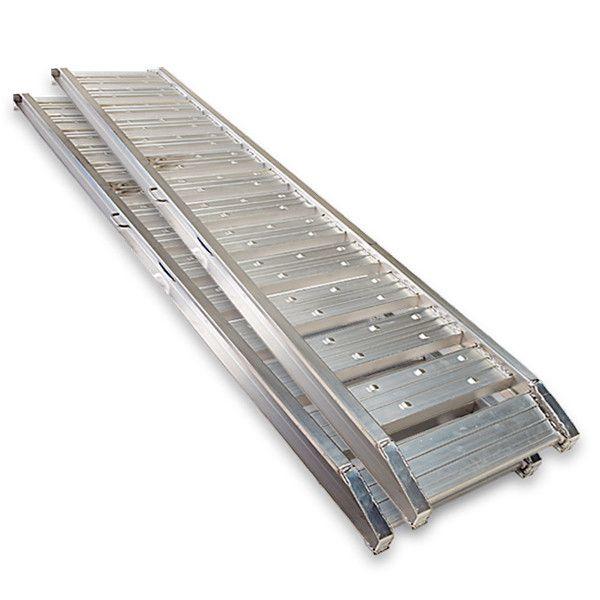 Aluminium oprijplaten auto - 180 cm (2 stuks) 6