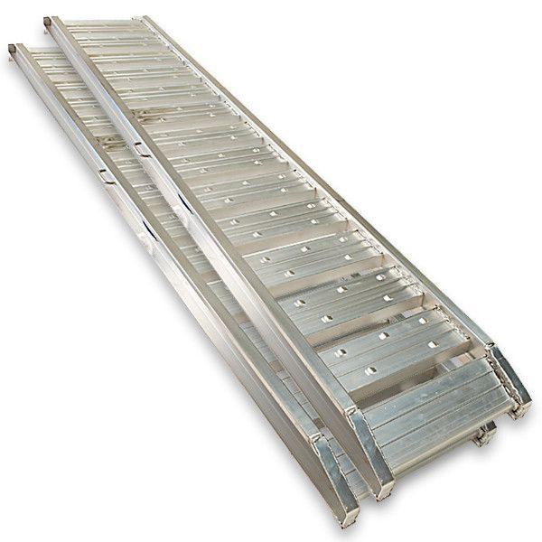 Aluminium oprijplaten auto - 300 cm (2 stuks) 6