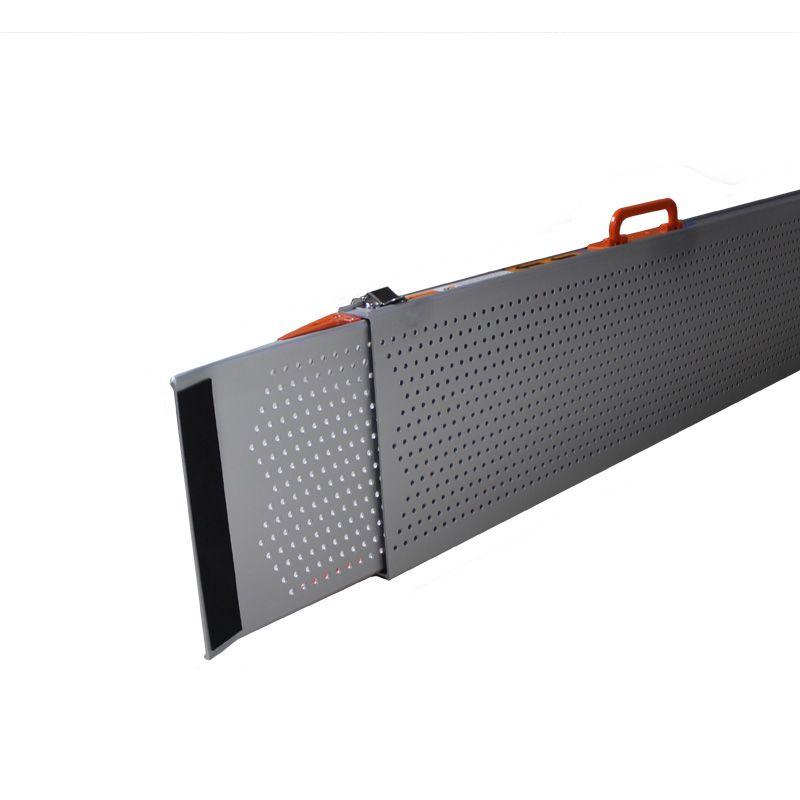 Uitschuifbare oprijplaat extra breed 240 cm lang - 2 stuks 2