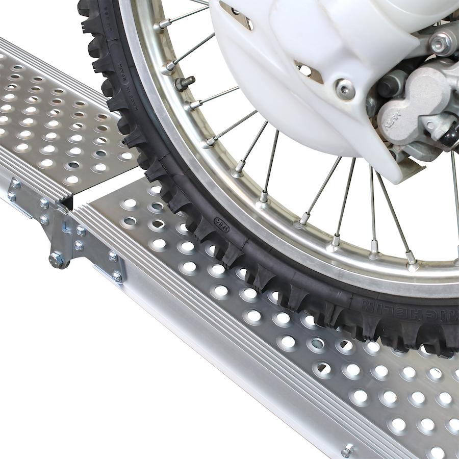 Aluminium oprijplaat inklapbaar - 195 cm rijgoot rijplank 3
