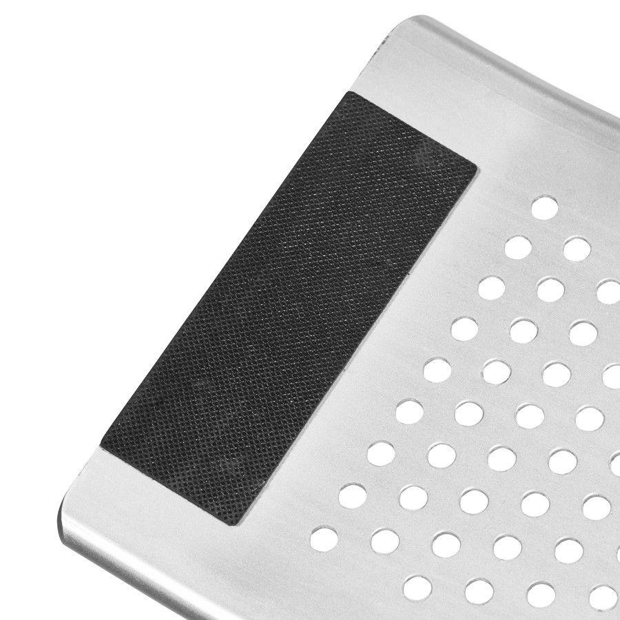 Aluminium oprijplaat inklapbaar - 120 cm rijplaat rijgoot oprijhelling 7