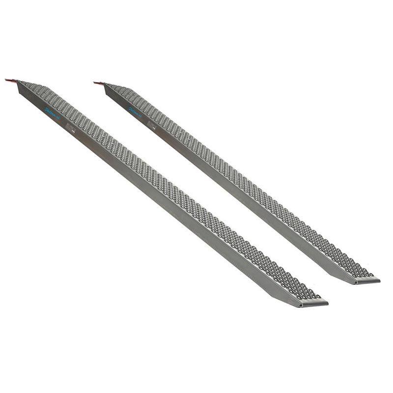 Aluminium oprijplaat - 200 cm - 300 kg - 2 stuks 1