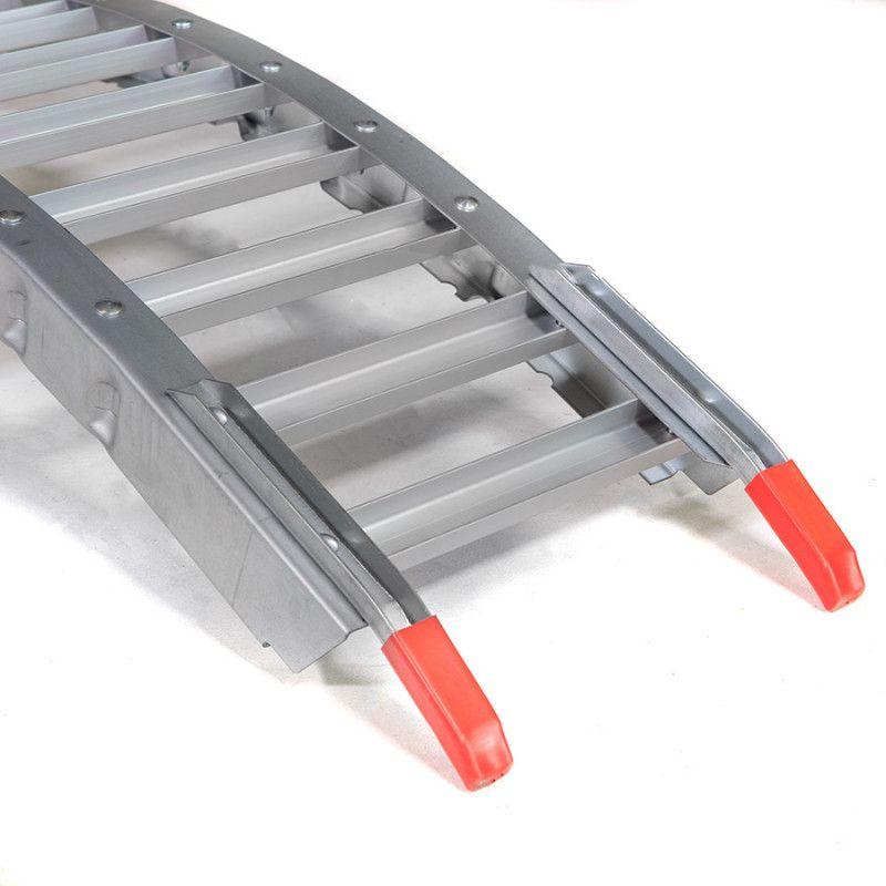 Oprijplaat inklapbaar rijplaat 213 cm aluminium rijgoot 3