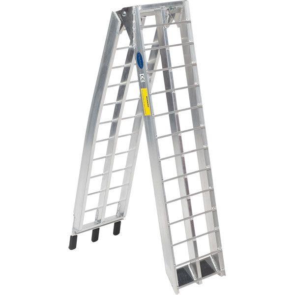 Oprijplaat aluminium opvouwbaar - 225 cm (2 stuks) 4