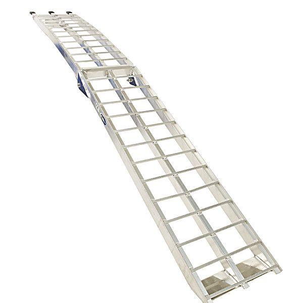 Aluminium oprijplaat 225 cm rijplaat oprijgoot rijplank 7