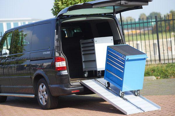 Oprijplaat scootmobiel 120 cm - aluminium rijgoot rijplaat rolstoel rollator 12