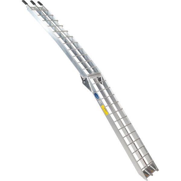 Oprijplaat aluminium opvouwbaar - 225 cm (2 stuks) 5