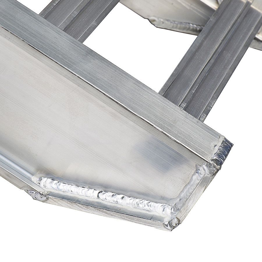 Aluminium oprijplaat auto - 350 cm - 4 ton (2 stuks) 7