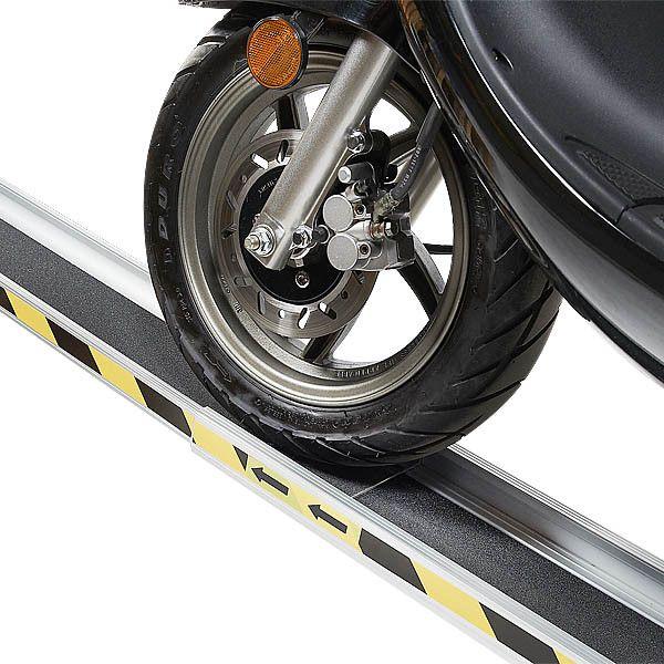 Aluminium oprijplaat - 150cm - inschuifbaar rijplaat rijgoot 7
