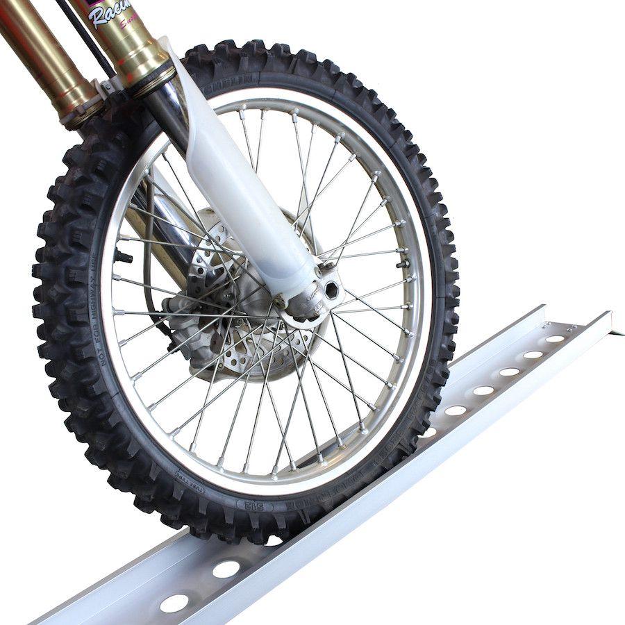 Oprijplaat rijgoot 190 cm aluminium rijplaat 1