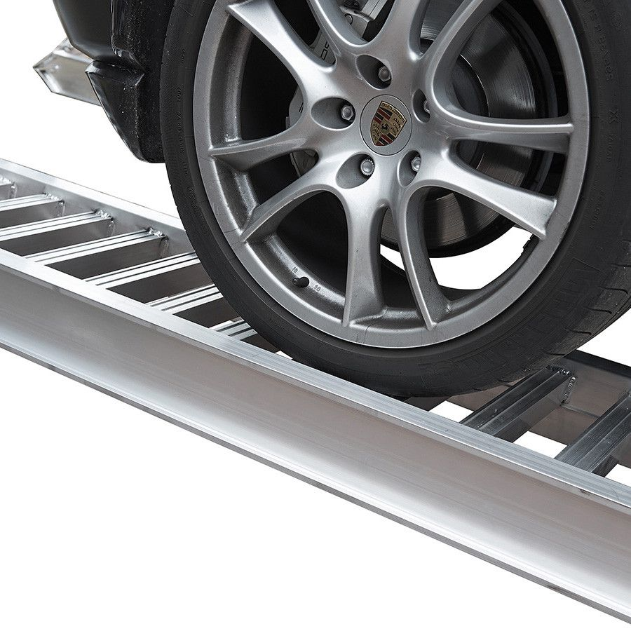 Aluminium oprijplaat auto - 350 cm - 4 ton (2 stuks) 1