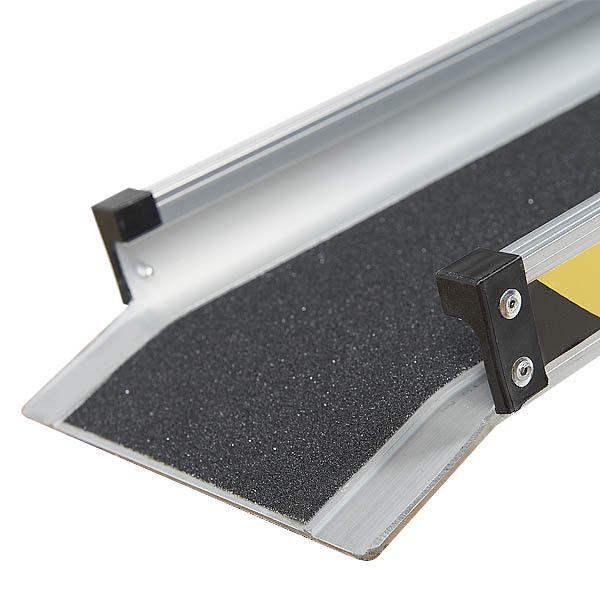 Aluminium oprijplaat - 150cm - inschuifbaar rijplaat rijgoot 6