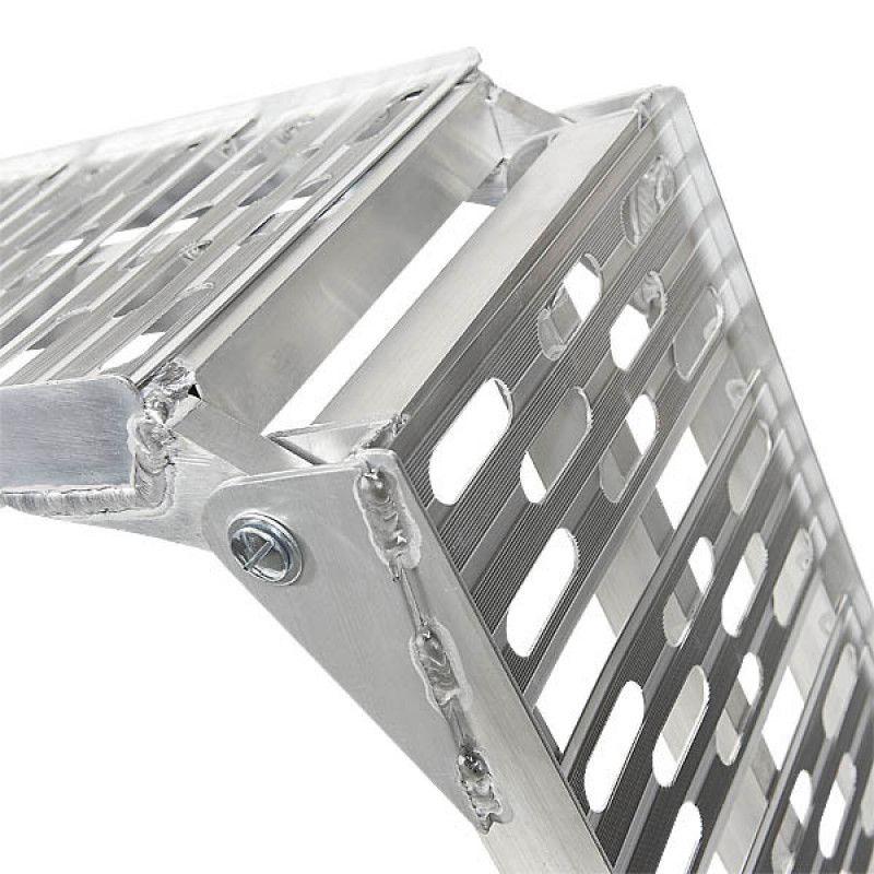 Extra verstevigde aluminium oprijplaat opklapbaar - 225 cm - 2 stuks 6
