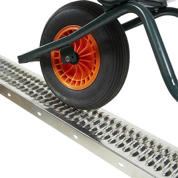 Oprijplaat 190 cm extra sterke rijplaat oprijgoot 1