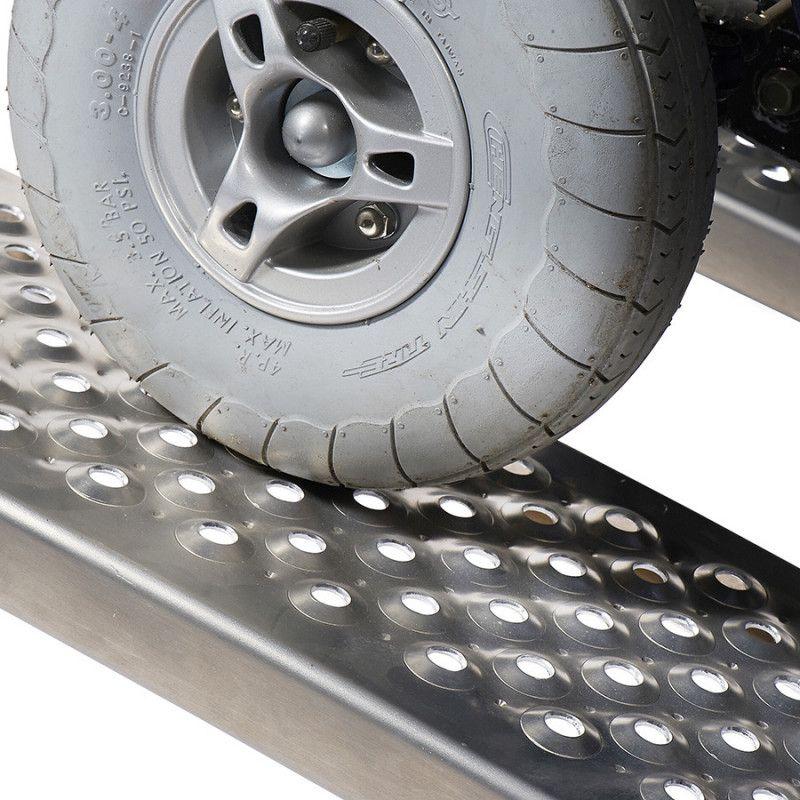 Aluminium rijplaat - 200 cm - 2 stuks 7