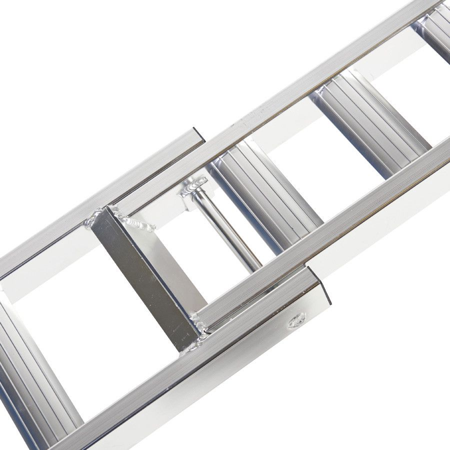 Aluminium oprijplaat (crossmotor) - 200 cm rijgoot rijplaat 2