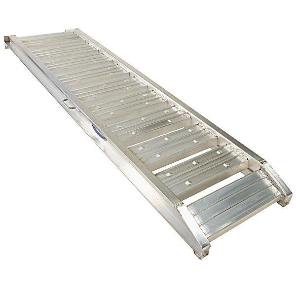 Aluminium oprijplaten auto - 180 cm (2 stuks) 4