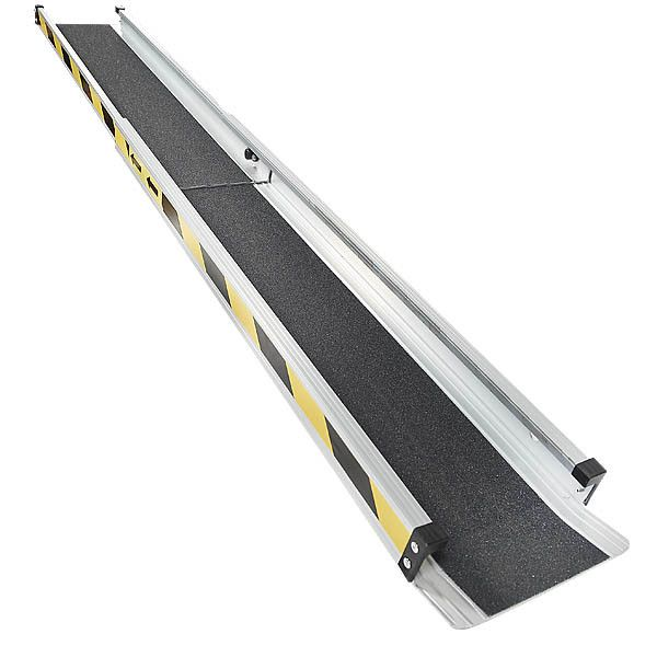 Aluminium oprijplaat - 150cm - inschuifbaar rijplaat rijgoot 5