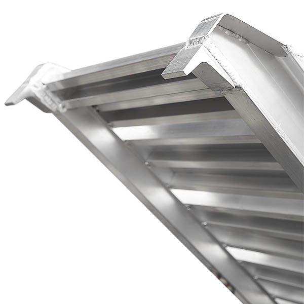 Aluminium oprijplaat  auto - 300 cm oprijgoot rijplaat 6