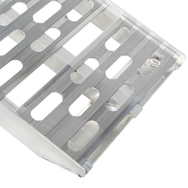 Extra stevige aluminium oprijplaat opklapbaar - 225 cm rijplaat rijgoot 7