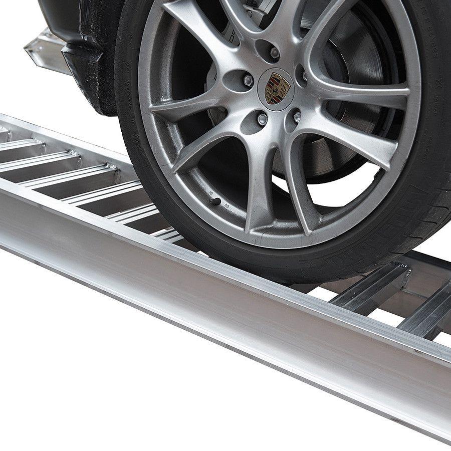 Aluminium oprijplaat auto - 350 cm - 2 ton rijgoot rijplaat  1