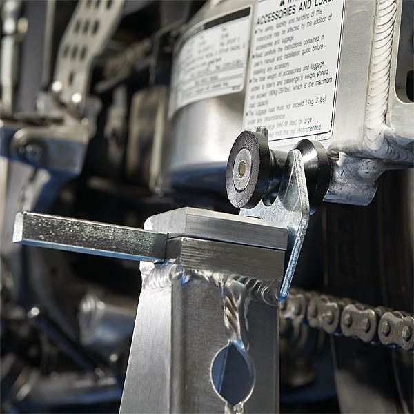 Paddockstand achterwiel aluminium motorlift motorstandaard 5