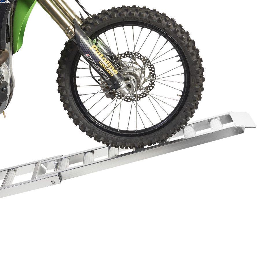 Aluminium oprijplaat (crossmotor) - 200 cm rijgoot rijplaat 8