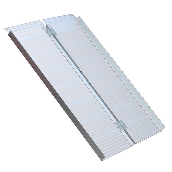 Oprijplaat extra breed - 240 cm rijplaat rijgoot aluminium plaat 11