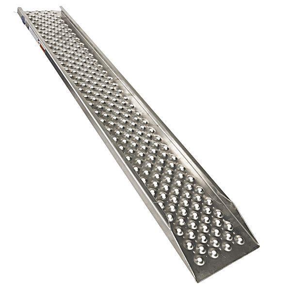 Aluminium oprijplaat rijplaat 150 cm  3