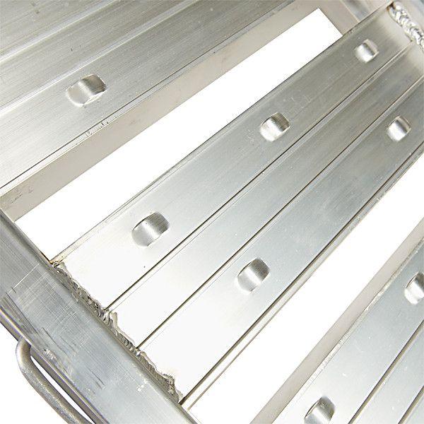Aluminium oprijplaat  auto - 300 cm oprijgoot rijplaat 4