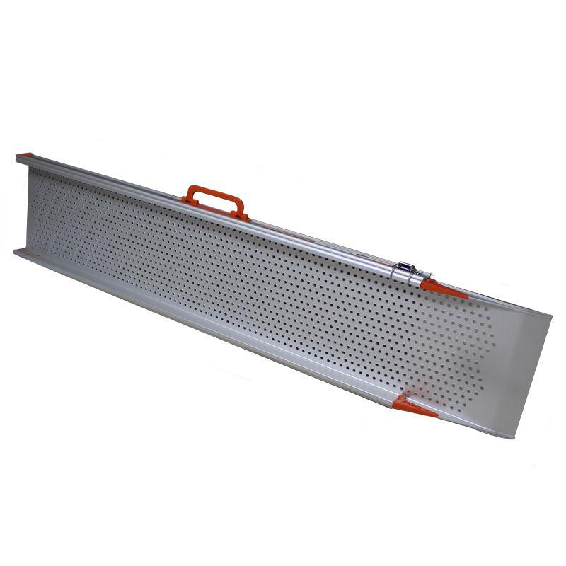 Uitschuifbare oprijplaat extra breed 240 cm lang - 2 stuks 3
