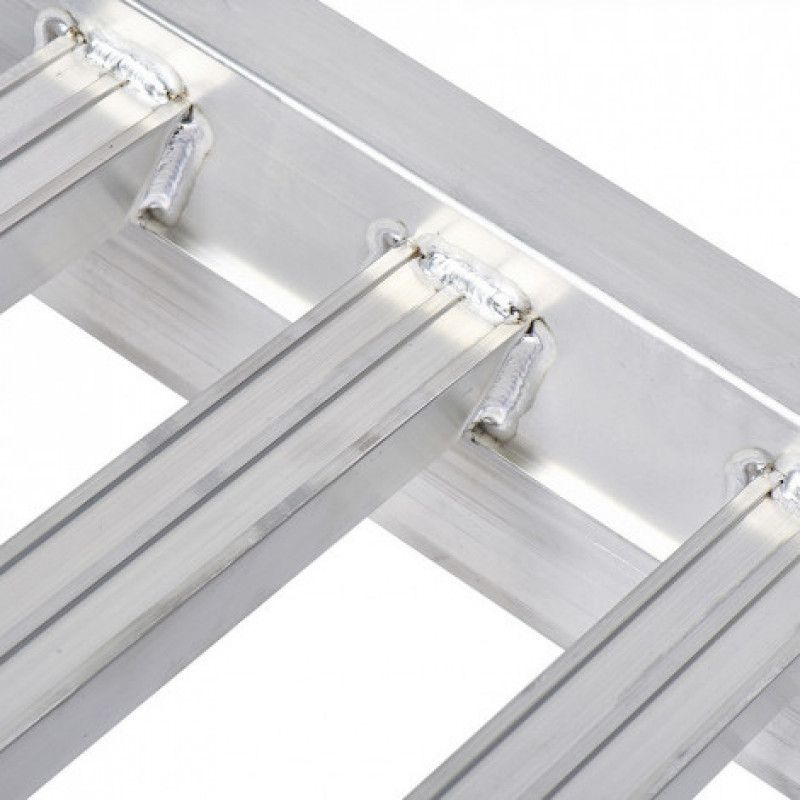 Treden van aluminium oprijplaat voor auto's van 300cm