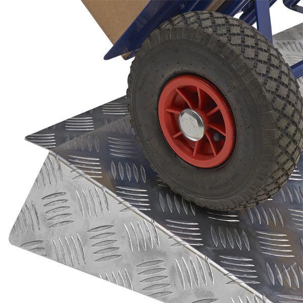 Drempelhulp 6-9 cm drempelplaat rijplaat rijgoot