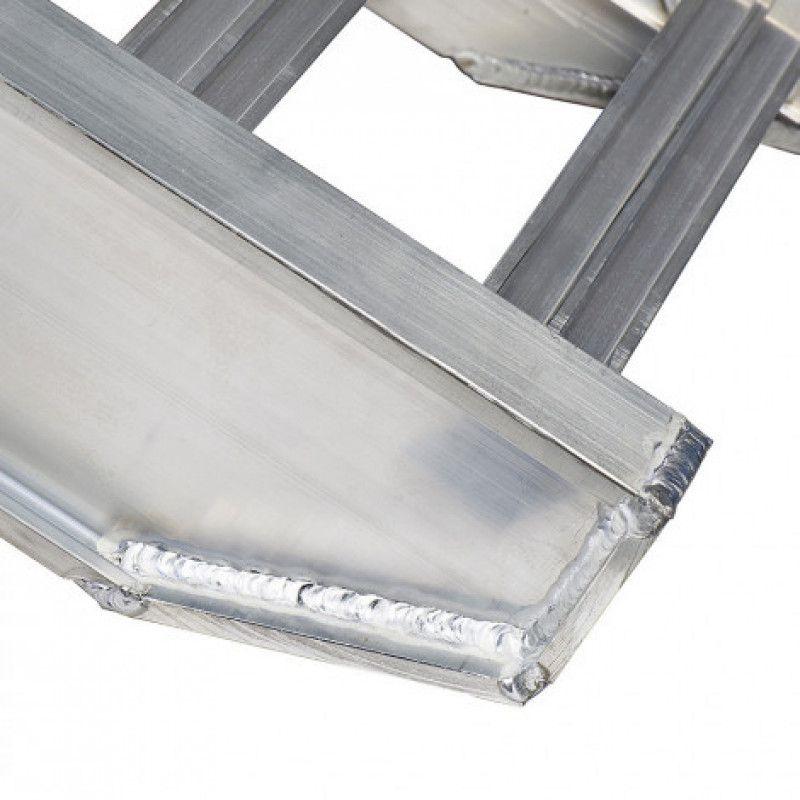 Aluminium oprijplaat van 250 cm lang