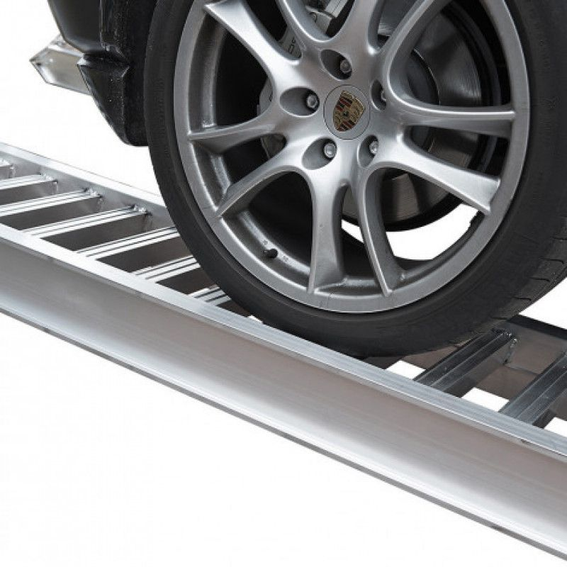 Aluminium oprijplaat 2 ton capaciteit 250 cm lang