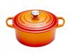Le Creuset braadpan Signature oranje-rood Ø 22 cm