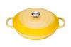 Le Creuset braadpan Campagnard geel Ø 30 cm