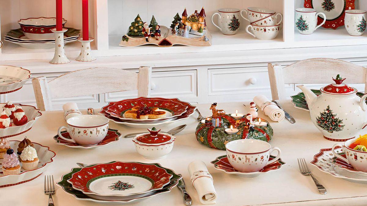 Villeroy & Boch; kersttafel