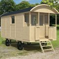 houten pipowagen / circuswagen