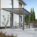 Aanbouw terras aluminium