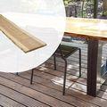 Baumstamm Tischplatte Lärche Douglasie Gehobelt 4.0 x 45 x 250 cm