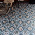 Tuintegel Mosaic Blue Gardenlux 60 x 60 x 3 cm Blauw