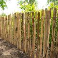 Tuinhek Engels Kastanjehout Op Rol 460 cm in 4 hoogtes van 90 - 180 cm Latafstand 5 cm
