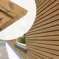 Gevelbekleding Thermisch Gemodificeerd Grenen 27 x 140 mm Dubbele Rhombus