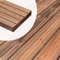 Vlonderplank Nobifix hout Glad geschaafd en Scheepsdekprofiel zijde