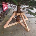 kerstboom standaard voor grote kerstbomen 3 - 4 meter